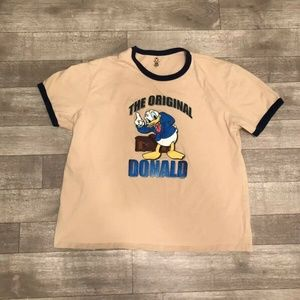 Original Donald Duck Vintage Ringer Disney t-SHIRT